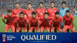 Mannschaftsfoto für Südkorea