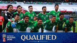 Mannschaftsfoto für Mexico