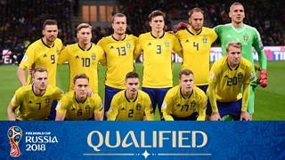 Mannschaftsfoto für Schweden